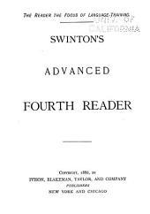 Swinton's Advanced First, Second Reader: Book 4