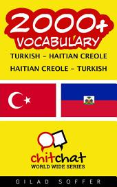 2000+ Turkish - Haitian Creole Haitian Creole - Turkish Vocabulary