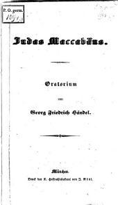 Judas Maccabaeus: Oratorium