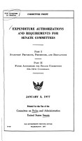 Hearings  Reports and Prints of the Senate Committee on Rules and Administration PDF