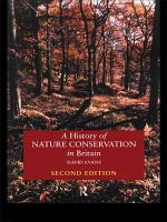 A History of Nature Conservation in Britain PDF