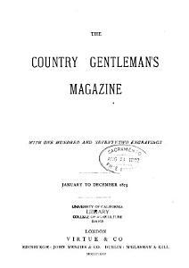 The Country Gentleman s Magazine     PDF