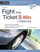 Fight Your Ticket & Win in California: Edition 16