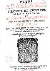 Petri Abaclardi...: et Heloisae conivgis eivs ...