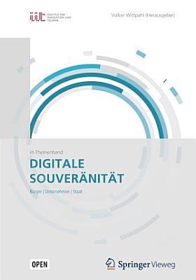 Digitale Souver  nit  t PDF