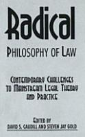 Radical Philosophy of Law PDF