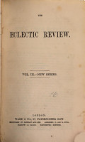 THE ECLECTIC REVIEW  VOL  III  PDF