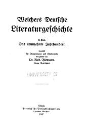 T. Das neunzehnte jahrhundert. Zunächst für oberprimaner und studierende dargestellt von ... Robert Riemann