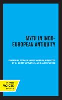 Myth in Indo European Antiquity PDF