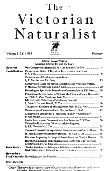 The Victorian Naturalist  the Journal   Magazine of the Field Naturalists  Club of Victoria PDF