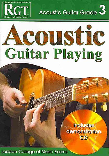 Acoustic Guitar Playing  Grade 3