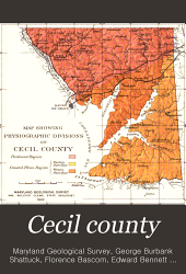 Cecil County: Volume 1