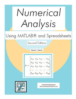 Numerical Analysis Using MATLAB and Spreadsheets PDF