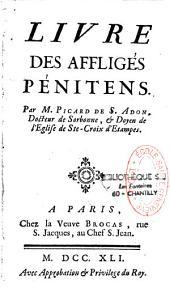 Livre des affligés pénitens