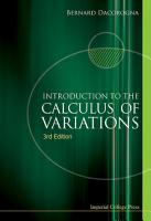 Introduction to the Calculus of Variations PDF