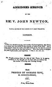 An Abridged Memoir of the Rev. John Newton, etc