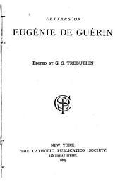 Letters of Eugénie de Guérin