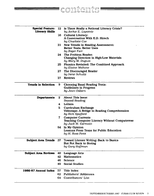 Curriculum Review PDF