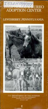 Wild Horse & Burro Adoption Center, Lewisberry, Pennsylvania