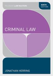 Criminal Law: Edition 9