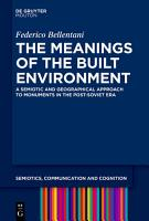 The Meanings of the Built Environment PDF