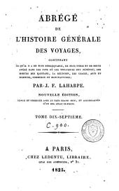 Abrégé de l'histoire générale des voyages: Volume17
