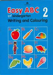 Easy ABC for Kindergarten – 2 (Writing and Colouring)