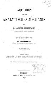 Aufgaben aus der analytischen Mechanik: Bände 1-2