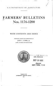 Farmers' Bulletin: Issues 1176-1200