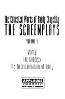 The Collected Works of Paddy Chayefsky  The screenplays PDF