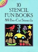 10 Stencil Fun Books