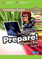 Cambridge English Prepare  Level 6 Student s Book PDF