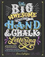 The Big Awesome Book of Hand   Chalk Lettering PDF