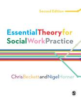 Essential Theory for Social Work Practice PDF