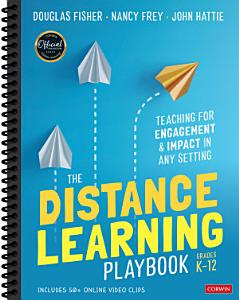 The Distance Learning Playbook  Grades K 12 Book