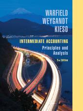 Intermediate Accounting: Principles and Analysis, 2nd Edition