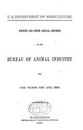 Annual Report of the Bureau of Animal Industry for the Year ...: Volume 4
