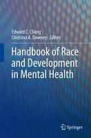 Handbook of Race and Development in Mental Health PDF