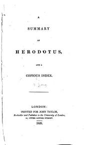 A Summary of Herodotus and ... Index