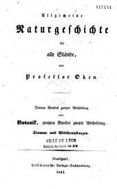 Allgemeine Naturgeschichte Für Alle Stände: Band 3