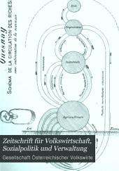 Zeitschrift für Volkswirtschaft und Sozialpolitik: Band 6