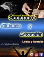 Cancionero Letras y Acordes de Alabanza y Adoraci  n PDF