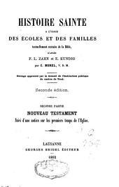 Histoire sainte à l'usage des écoles et des familles, d'après F.L. Zahn et E. Kundig, Charles Morel: Volume2