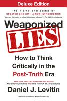 Weaponized Lies Deluxe PDF