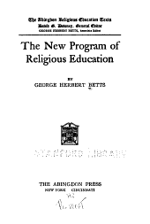 The New Program of Religious Education