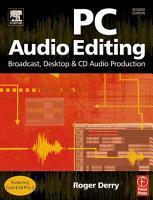 PC Audio Editing PDF