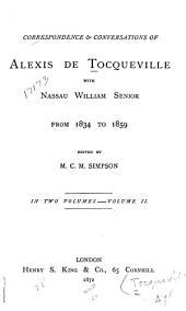 Memoir, Letters, and Remains of Alexis de Tocqueville: Volume 2