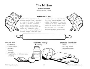 The Mitten--Pita Pocket Cheese Sandwich Recipe