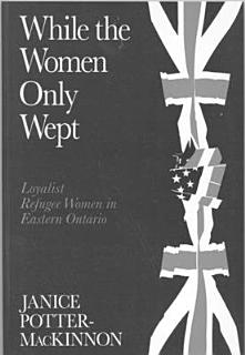 While the Women Only Wept Book