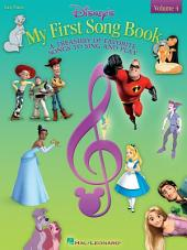 Disney's My First Songbook - Volume 4 (Songbook)